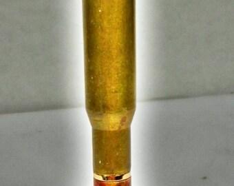 Mini 30 Cal Bullet Cartridge Twist Pen -Acrylester Harvest Gold    013 GIFT