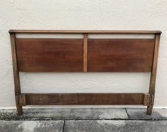 Mid-Century Modern Drexel Profile Bed