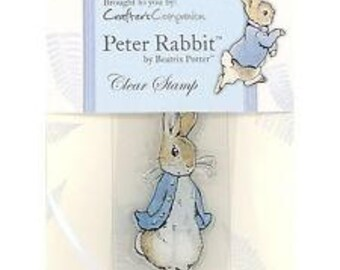 Beatrix Potter Acrylic Stamp - Peter Rabbit  - Crafter's Companion
