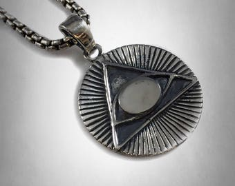 Treasures of Tutankhamun All Seeing Eye Freimaurer Masonic Historical Pendant