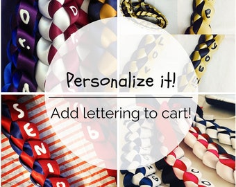Personalized Lettering Customized Message [Add on] for the Lei
