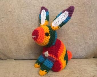 Pride Rainbow Bunny