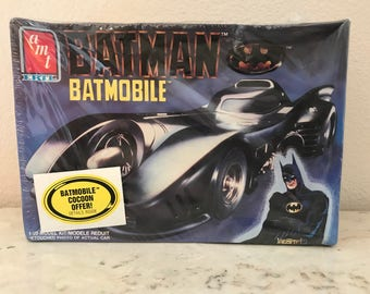 Batman Batmobile Model~AMT Ertl~Vintage 1989~Still Sealed Never Opened~DC Comics~L@@K