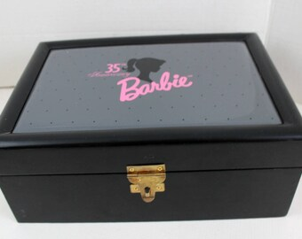 35th Anniversary Barbie Collectible China Tea Play COA Box Collectible