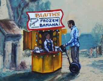 Frozen Banana Stand. 16 x 20 in print