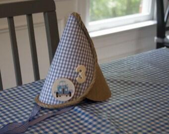 Little Blue Truck Birthday Hat