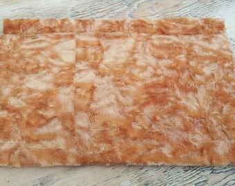 23x12 inch preaged steinlein mohair