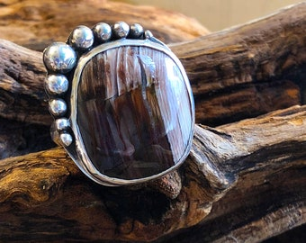 I shine on this ring is so yummy! Silver