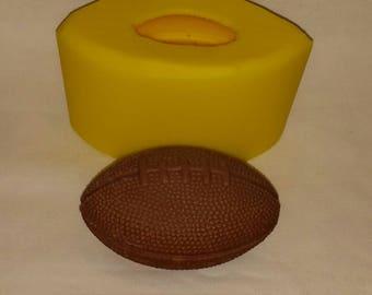 "3"" Football Soap & Candle Mold"
