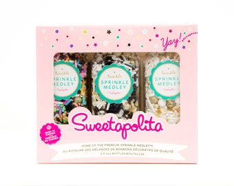 HIGH ROLLER Sprinkle Gift Pack, Sweetapolita