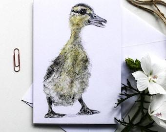 Blank Card - Miyoko Duckling