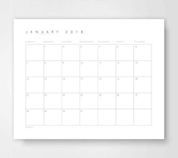 Desk Calendar Printables : Large desk calendar printable