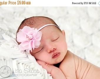 10% SALE Baby headband, newborn headband, adult headband, child headband and photography prop The single sprinkled- Chiffon CUTIE headband