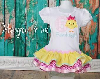 Chicken Farm Birthday Dress, Farm,  Chicken 1st Birthday dress, Bird
