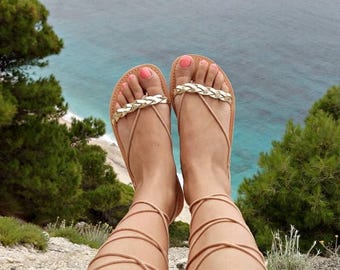 ON SALE gladiator sandals, leather sandals, greek sandals, women sandals, wedding sandals