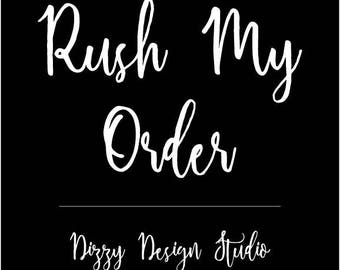Rush My Order - Logo Design Add On