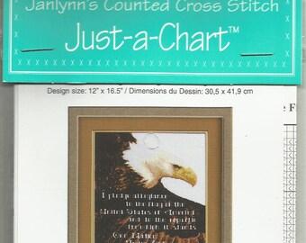 Pledge of Allegiance Janlynn's Just-A-Chart