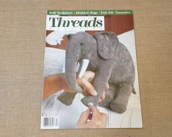 Threads Magazine December 1988 January 1989 Back Issue Number 20