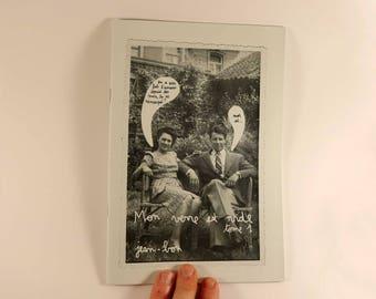 fanzine zine  collages  Mon verre est vide #1