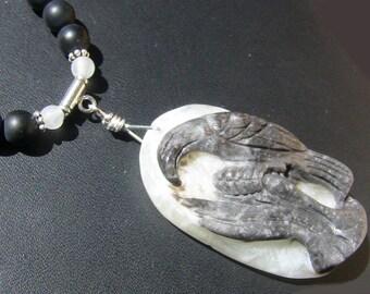 Black Eagle Necklace