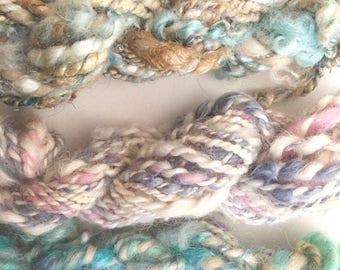 Handspun Yarn Trio | Weaving Yarn Pack | OOAK