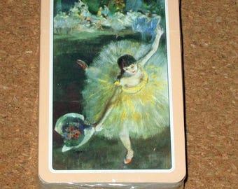 Vintage BALLET PINK Deck Playing Cards Dancer Unopened