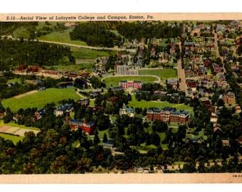 LAFAYETTE COLLEGE, Easton Pennsylvania Vintage Postcard