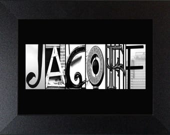 JAGOFF Alphabet Photography Letter art photos Pittsburghese (various sizes