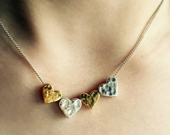 4 Hearts Necklace