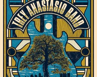 Trey Anastasio Band Concert Poster, Royal Oak, MI