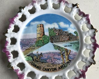 Vintage Grand Canyon Arizona Plate