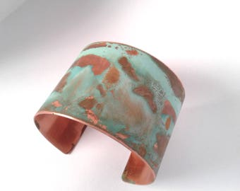 Patina Copper Artisan Cuff