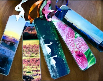 Sonoma County - Handmade Photo Bookmarks