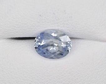 Sapphire 2.105 carat unheated