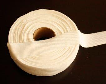 3cm Width Cotton Knit Neckline Cover