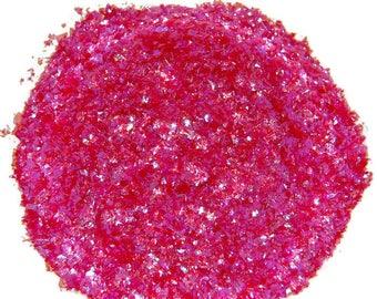 Raspberry Ice Glitter - 1 Fl. Ounce for Glitter Nail Art & Glitter Crafts