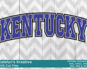 Kentucky Arched SVG Files