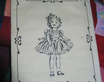 """Vintage SHIRLEY TEMPLE 12"""" Doll Pattern #3188-1 Party Dress...Fashions to Fit..Reproduction....Never Used...#155"""