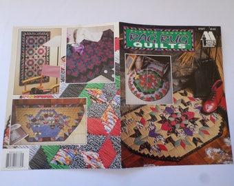 Plastic Canvas Rag Rug Quilts instruction Booklet