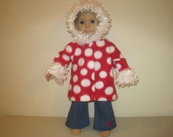 "18"" handmade jacket and jeans to fit American Girl Dolls"