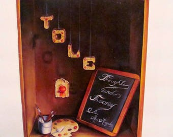 Tole Thoughts and Theory by Ann Kingslan