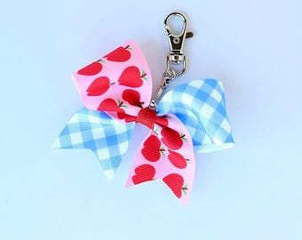 MJ Bows - Apple A Day Backpack Bow - small backpack bow to match Matilda Jane Clothing, Back To School