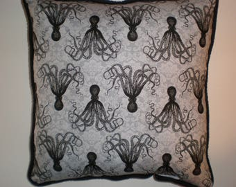 Steampunk Octopus Pillows