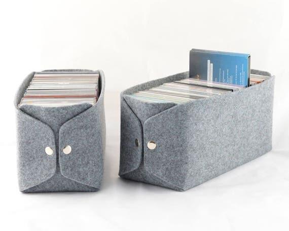 Cd Aufbewahrung cd aufbewahrung korb filz lagerplatz filz bin filz cd korb