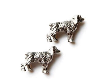 Limited Time Offer Dog Cufflinks - Gifts for Men - Anniversary Gift - Handmade - Gift Box Included