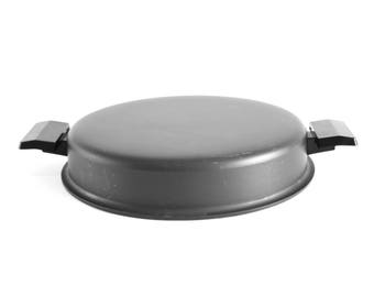 "Miracle Maid Cookware Lid 8"" Dome with Side Handles for Saucepan or Skillet (anodized / Gemcoat)"