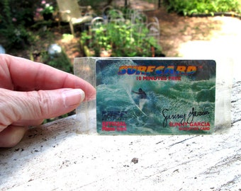 Sunny Garcia Surf Card from Early 1990's Surf Conditions Venture
