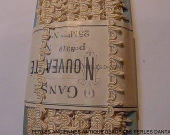 25 m antique lace trim french