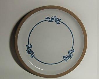 Wedgwood Midwinter Stoneware Chop Plate Blue