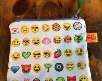 Emoji coin purse,  change purse, keychain